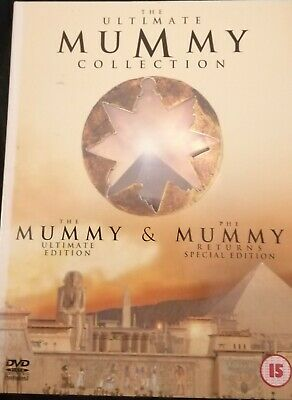 The Ultimate Mummy Collection - The Mummy / The Mummy Returns (DVD, 2001, 4-Disc • 3.50£