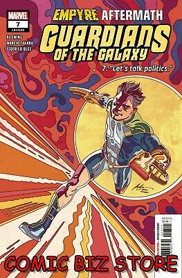 Guardians Of The Galaxy #7 (2020) 1st Printing Albuquerque Main Cover Marvel • 3.65£