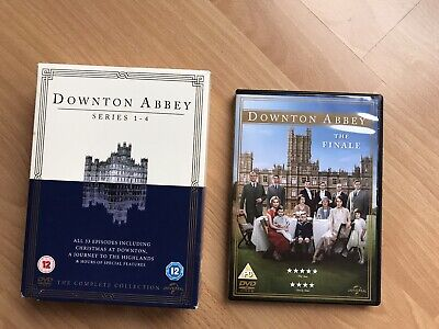 Downton Abbey Series 1 To 4 And Finale Dvd • 6.50£