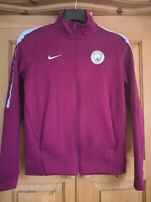 Manchester City Track Top Jacket  Women Size S Nike • 34.99£