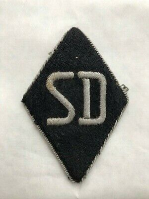 German WW2 SD Officers Sleeve Diamond • 30£