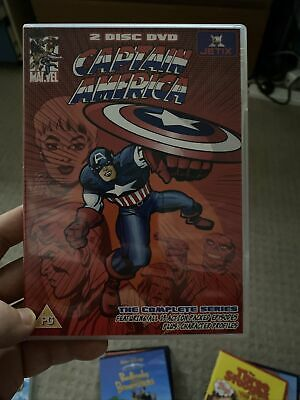 Rare The Complete Animated Series CAPTAIN AMERICA 1966 TV Series DVD • 3£