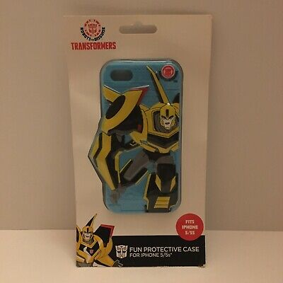 £3.62 • Buy Transformers Bumblebee Cell Phone Rubber Case For IPhone 5/5s **FREE SHIPPING**
