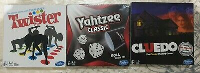 AU40 • Buy Hasbro Travel Board Games Twister/Yahtzee/Cluedo New And Sealed