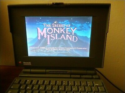 $ CDN330.30 • Buy Vintage Macintosh PowerBook 165c & Lots Of EXTRAS! W/MONKEY ISLAND & More Games!