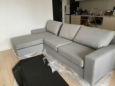 Madrid Modular Couch With Storage And Sofa Bed • 496.53£