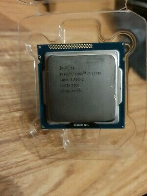 Intel Core I7-3770K 3.5GHz Quad-Core Processor, LGA 1155 • 119.99£