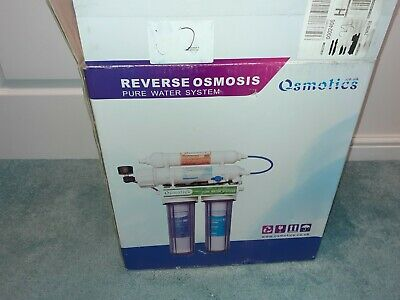 Osmotics Reverse Osmosis Pure Water System Plus E-chen Pump • 26£