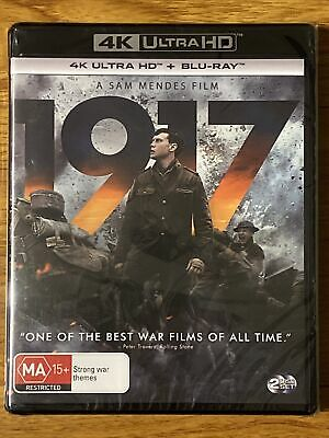 AU15.50 • Buy 1917 (4K Ultra HD + Blu Ray, 2 Disc Set) Brand New And Sealed
