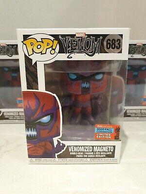 Funko Pop! Vinyl Marvel Venomized Magneto #683 NYCC 2020 Shared Sticker November • 39.90£