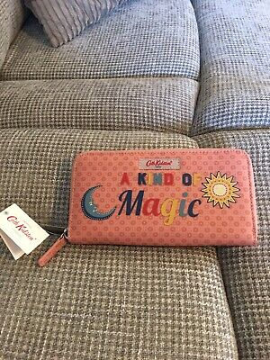 Cath Kidston A Kind Of Magic Magical Memories Large Continental Wallet Purse New • 15.99£