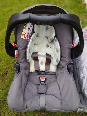 Graco Quattro Tour Deluxe In Diamond  Complete Travel System With Rain Cover • 130£