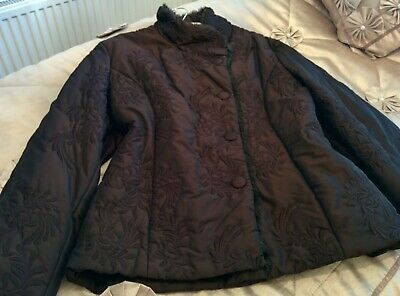 Sz 16 Padded Winter Coat From Alex&Co Great Condition • 3.90£