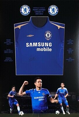 £599 • Buy Frank Lampard Hand Signed Chelsea FC Shirt
