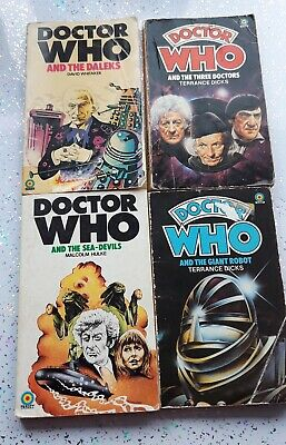 Mixed Doctor Who Books - 8 Target Paperback Books • 10£