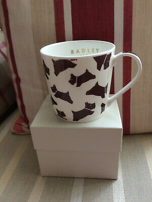 Radley London Chunky Dog Bone China Mug – Boxed – Brand New • 12.99£