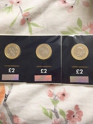 Set Of 3 Shakespeare £2 Coins From 2016 Brilliant Uncirculated • 35£