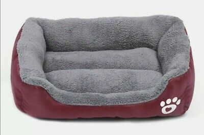 Pet Dog Cat Bed Mat Puppy Cushion Soft Warm House Kennel Mat Blanket Washable UK • 17.99£