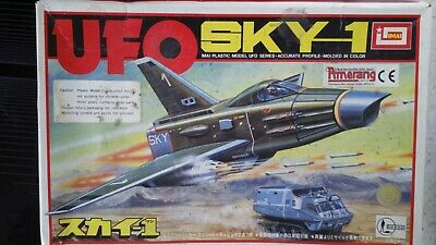 Ufo (s.h.a.d.o.) Gerry Anderson Tv Series Sky-1 Spaceship Model Kit • 21£