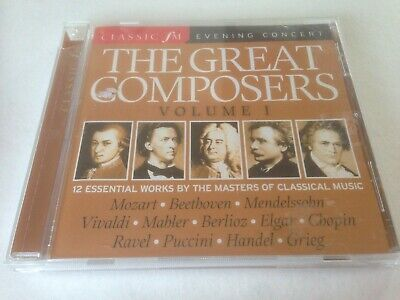 Various ‎– The Great Composers Volume 1 (2008) CD Album • 0.65£