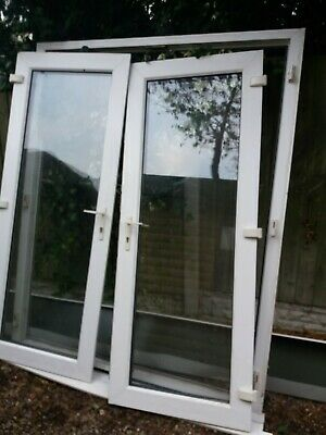 White French Doors , Double Glazed For Patio Or Man Cave • 57£