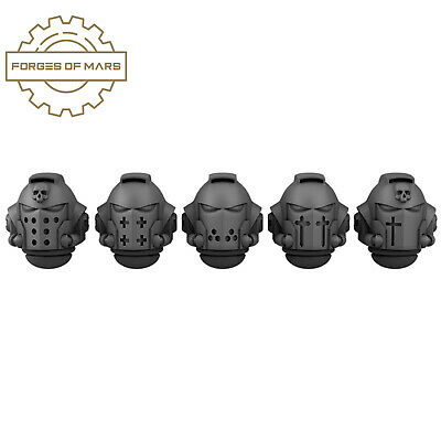 AU18.74 • Buy 40K SPACE MARINES - Primaris Helmets - Crusaders (x5)