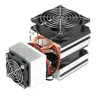 £33.46 • Buy Thermoelectric Peltier Cooler Refrigeration Cooling System DC 12V 20A Heat Sink
