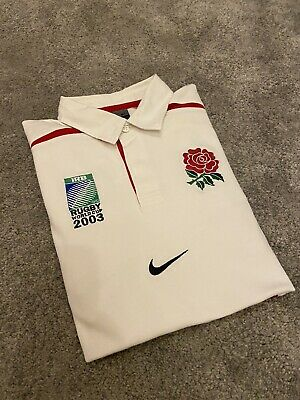 England Rugby Shirt Size Large • 7.50£