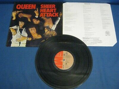 Record Album Queen Sheer Heart Attack 236 • 14£