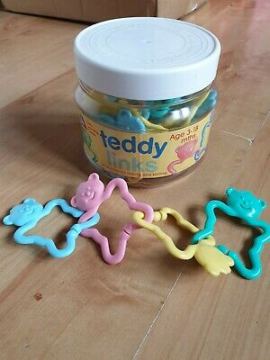 90's Early Learning Centre Baby Teddy Links • 3£