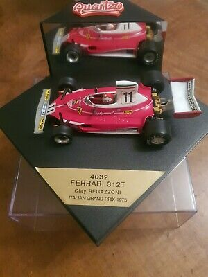 Quartzo 1/43 Ferrari 312t #11 Itaian Gp 1975 Clay Regazzoni 4032 • 5.60£