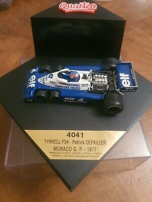 Quartzo. 4041 Tyrrell P34. Monaco GP. 1977.  Mint Boxed. THE BEST. • 6.30£