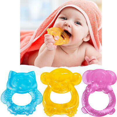 £2.89 • Buy BABY TETHER Water Filled Teething Ring BPA Free Soother Sore Gums Durable 👶🦷
