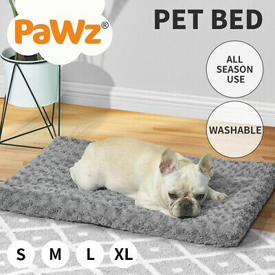 AU36.99 • Buy Pet Bed Dog Beds Bedding Soft Warm Mattress Cushion Pillow Mat Plush Velvet