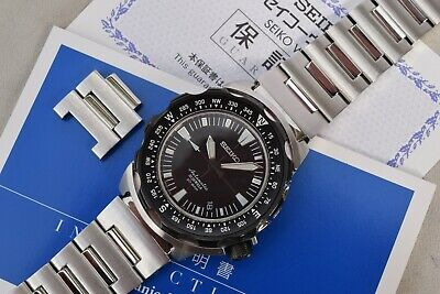 $ CDN1149.45 • Buy Seiko SARB047 Trek Monster 6R15-01F0 Automatic Mechanical Watch Land April 2009