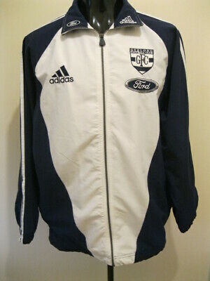 AU129 • Buy 1990s Adidas AFL Geelong Cats Training Warm Up Jacket Small 90cm