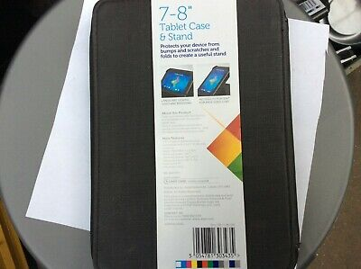 """Polaroid 7-8"""" Universal Tablet Folio Case And Stand New. Protect USM344 • 7£"""