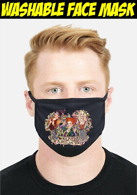 I Put A Spell On You Face Mask, Hocus Pocus Witch Reusable Washable Cover Mask • 6.99£