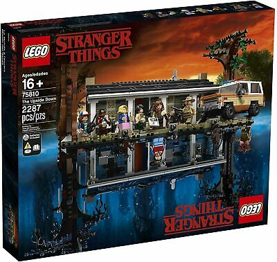 AU327 • Buy NEW Lego Stranger Things (75810) Upside Down   Brand New In Box   Free Shipping