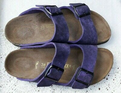 Birkenstock Papillio Purple Arizona - Uk 5, Eur 38 Narrow • 37.99£