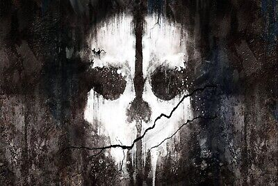£44.99 • Buy Call Of Duty COD Ghosts Skull Gaming Canvas Picture Wall Art Print