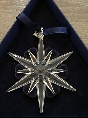 Swarovski Crystal Christmas Star Ornament 2005 • 45£
