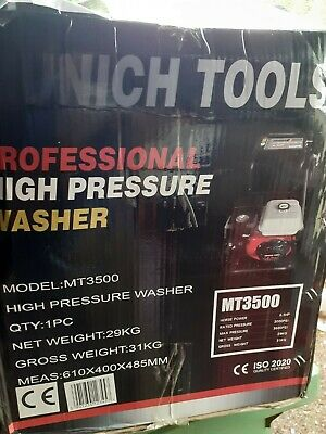 Munich Tools Power Washer Petrol Driven With 10  Wheels • 200£