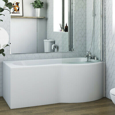 Bath Tub 1500mm Right Hand P Shape With Panel • 146£