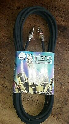 Horizon Music,incorporated  5 Metre W/gold RCA Cable  • 9.99£