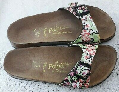 Birkenstock Papillio Spring Flowers Madrid - Uk 3.5, Eur 36 - Narrow Fit • 22.99£
