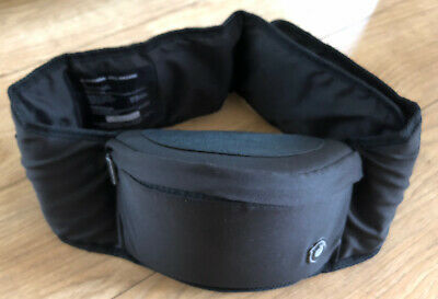 Hippychick Hipseat Black Ergonomic Baby Toddler Carrier - Excellent Condition! • 10£