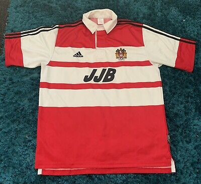 Wigan Warriors Home Shirt 2000-01 Size Large L Rugby League • 12£