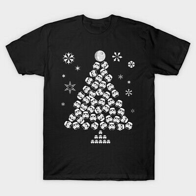 Star Wars Christmas Xmas Santa AT&T Sci Fi Film Movie Novelty Tee Top T Shirt 2 • 6.99£