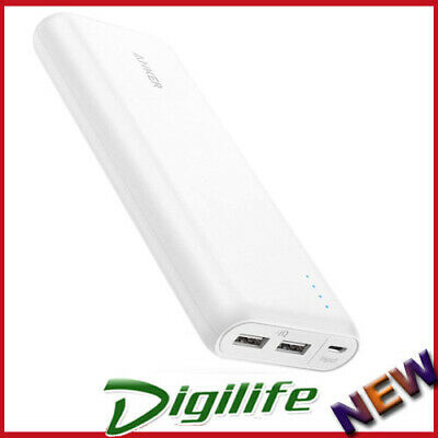 AU84.90 • Buy Anker Powercore Speed 20,000mAh USB Portable Power Bank QUICK CHARGE3.0 White